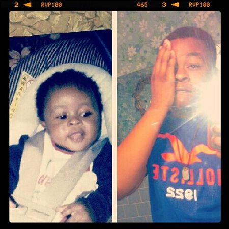 then and now ! #babyme
