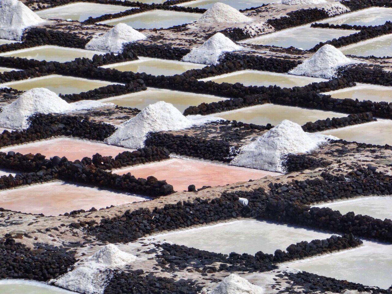 Salinen La Palma Salt Flat Salt - Mineral Salt Basin Nature No People Landscape Agriculture La Palma Canary Islands Salinas Salt SPAIN