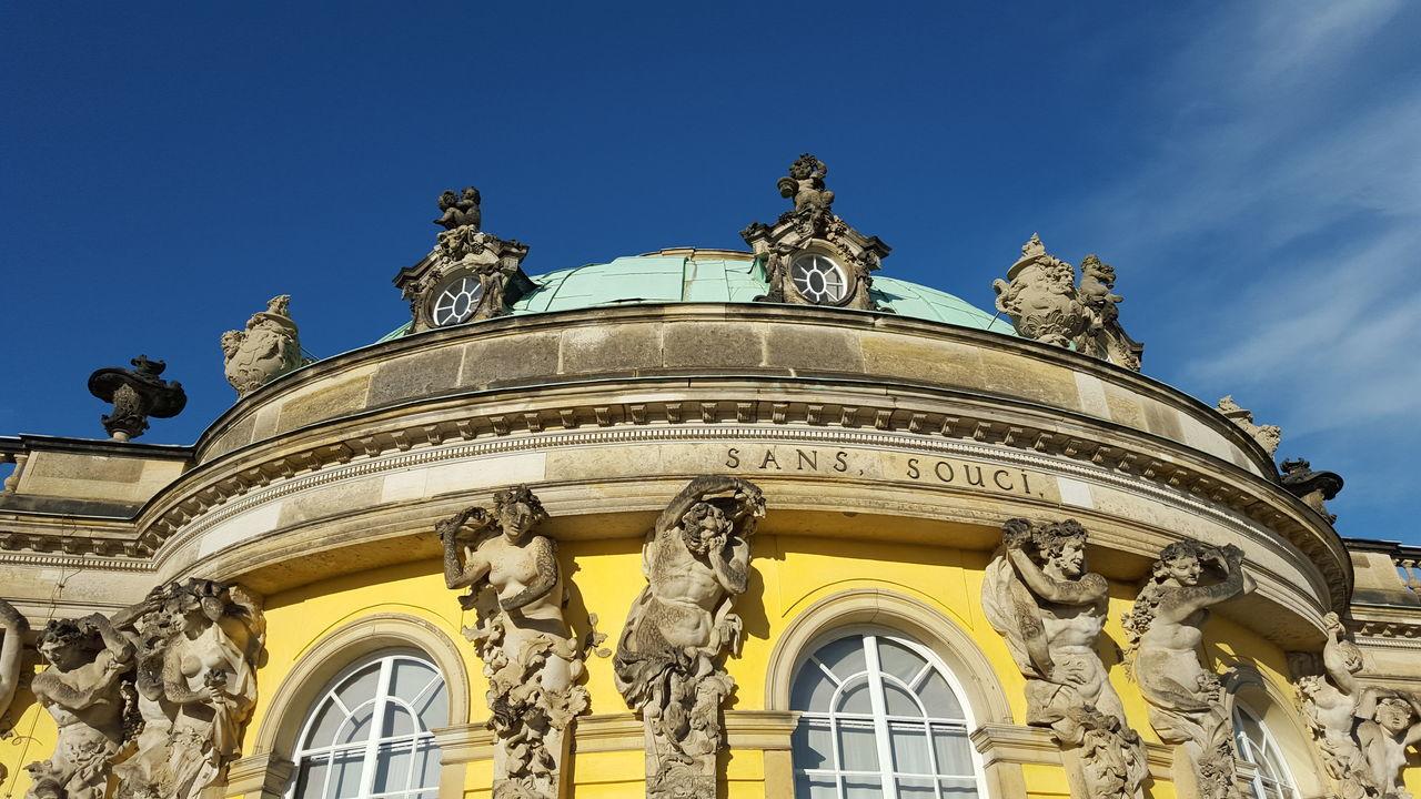 Sans Souci Castle Schlosspark Potsdam Schloss Architecture Clear Sky History No Edit/no Filter The Architect - 2017 EyeEm Awards