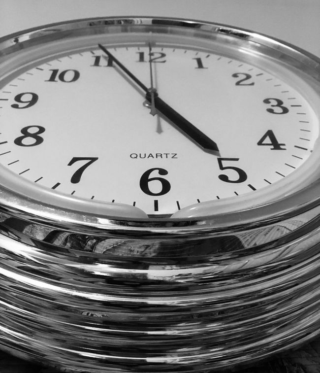 Dramatic Angles Number Time Clock Close-up Accuracy Meter - Instrument Of Measurement Extreme Close-up Full Frame Minute Hand Geometric Shape Hour Hand Studio Shot Circle White Background Purity EyeEm Fresh On Eyeem  This Week On Eyeem EyeEm Gallery EyeEm Team EyeEm Best Shots EyeEmBestPics Monochrome Photography