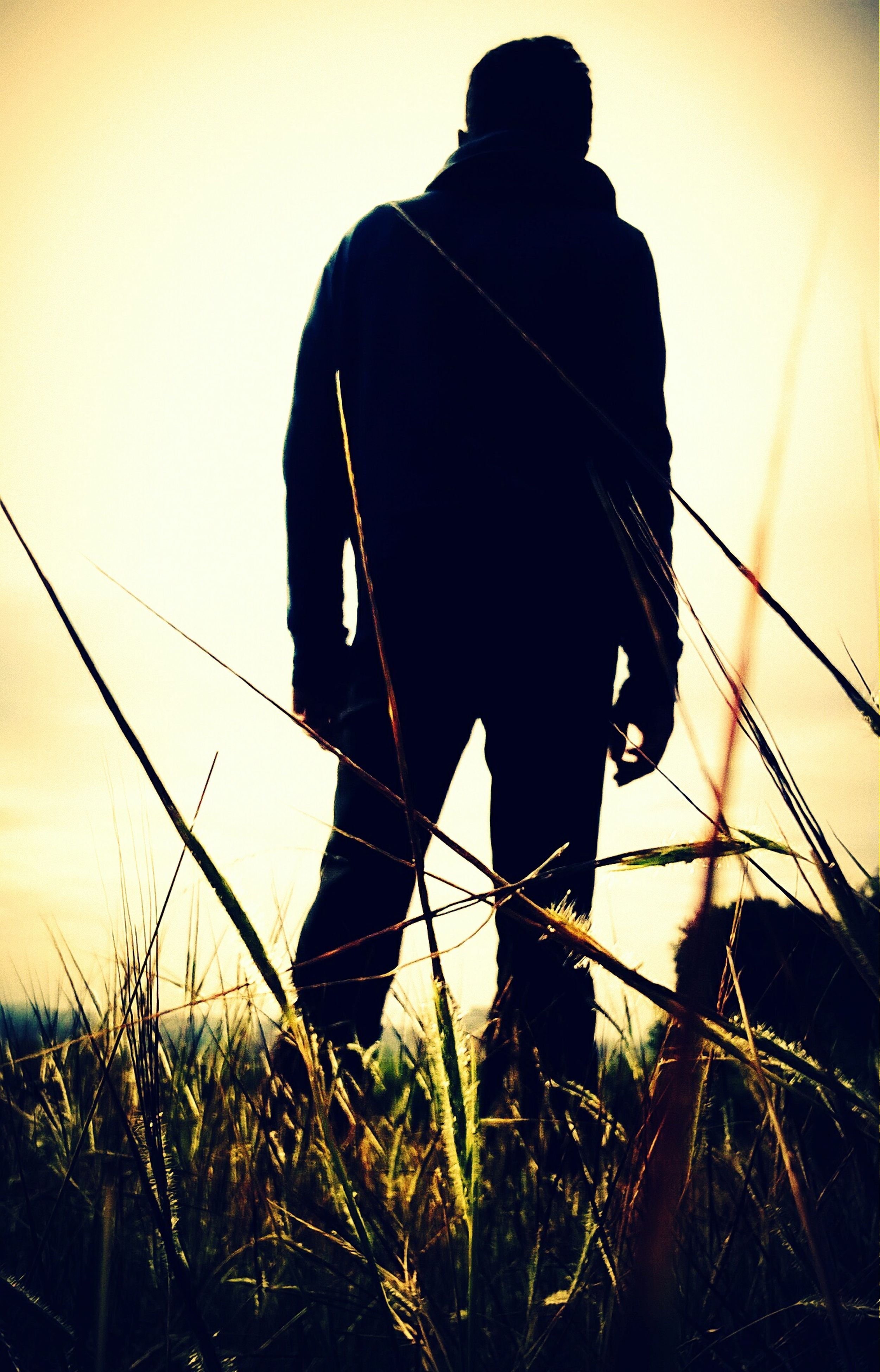 silhouette, one person, low angle view, outdoors, leisure activity, men, real people, people, one man only, adults only, only men, adult, day