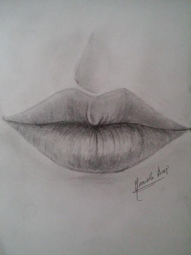 Art Drawing My Draw Lips