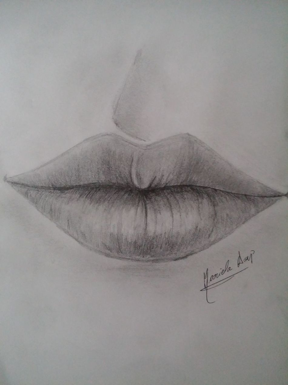 Art Drawing My Draw Lips