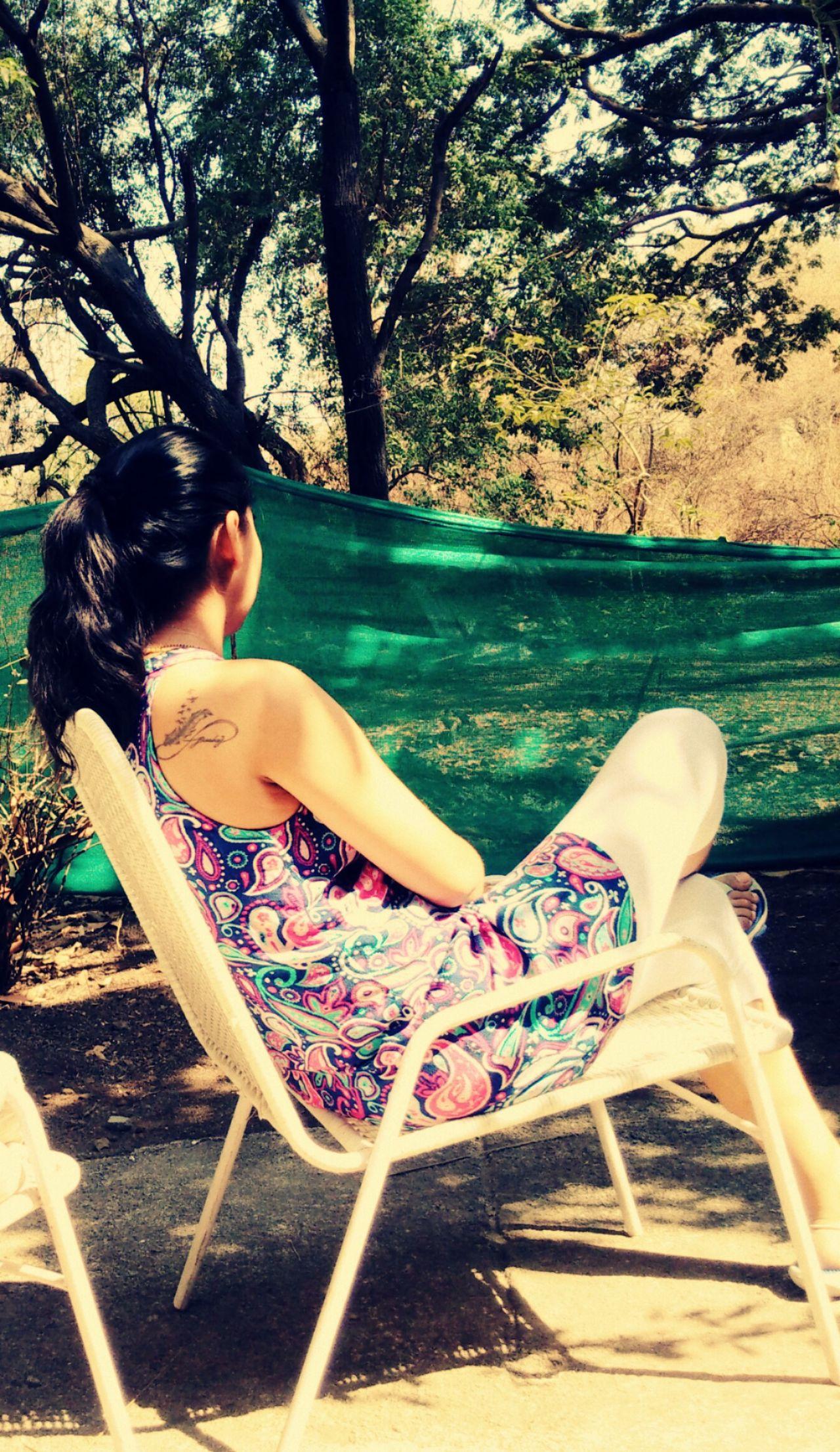 Peace And Quiet Backyard View INKEDGIRL Inkedback Chillaxing EyeEmNewHere
