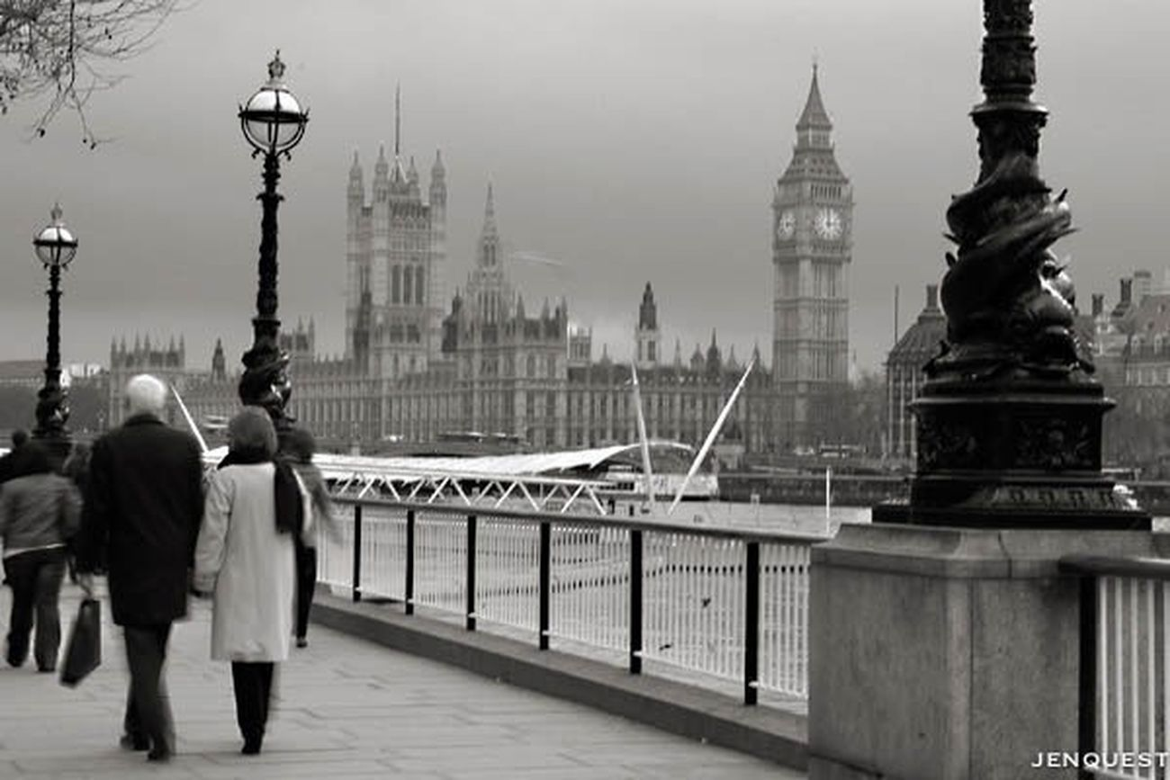 Along the Thames Black And White Blackandwhite Streetphotography Streetphoto_bw