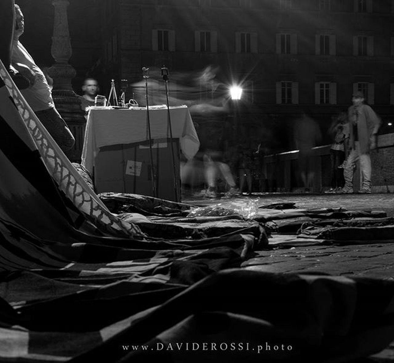 Night figure @ Rome Streetphotography Blur