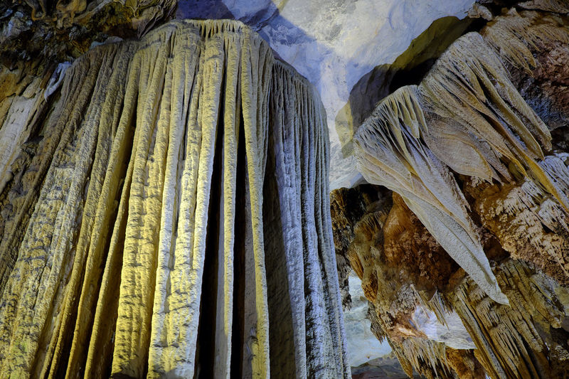 Paradise cave, an amazing, wonderful cavern at Bo Trach, Quang Binh, Vietnam, underground beautiful place for travel, heritage national with impression formation, abstract shape from stalactite Stalactite  Abstract Amazing ASIA Asian  Cave Cavern Formation Geological Geology Grotto Limestone Nature Paradise Paradise Cave Quang Binh, Viet Nam Quangbinh Quảng Bình Speleology Stalagmite Tourism Travel Viet Nam Vietnam Vietnamese