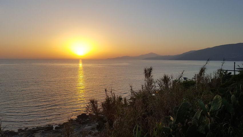 Palinuro  Sunset Taking Photos Bestshot