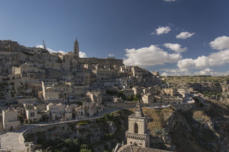 Ancient Ancient Civilization Architecture Building Exterior Built Structure Day Eye4photography  EyeEm EyeEm Gallery EyeEm Nature Lover Film Set History Mel Gibson Mountain Nature No People Old Ruin Outdoors Sassi Di Matera Sky The Passion Of The Christ. Travel Destinations