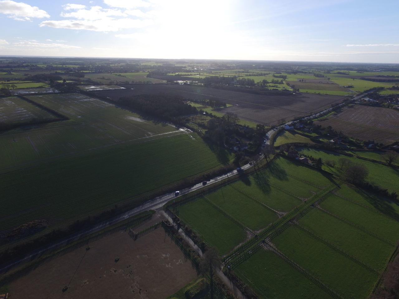 Aerial Photography Aerial View Barnby Barnby Lowestoft Countryside DJI Phantom 3 Pro Drone  Lake Views