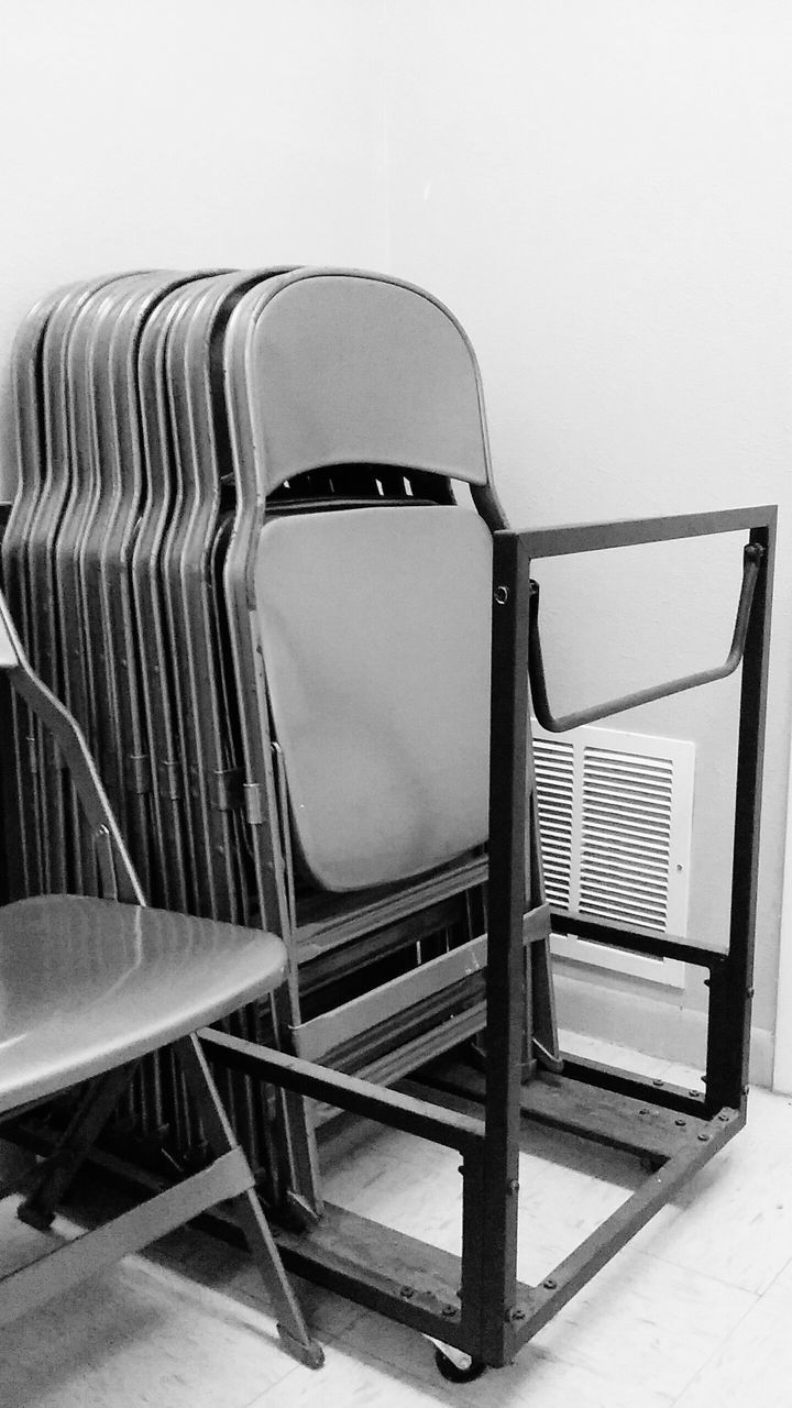 Folding Chairs In Luggage Cart