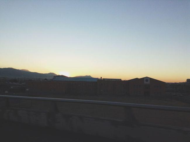 Frontera Frontier City Sunset