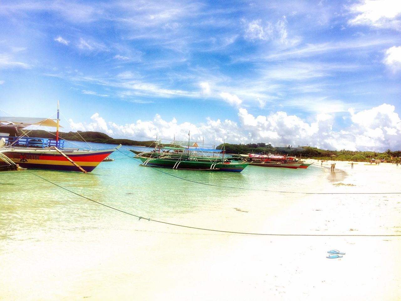 Color of nature EyeEm Nature Lover TravelPhilippines Eyeem Philippines Transportation Nautical Vessel Sky Mode Of Transport Moored Water Nature Sea No People Day Outdoors Outrigger