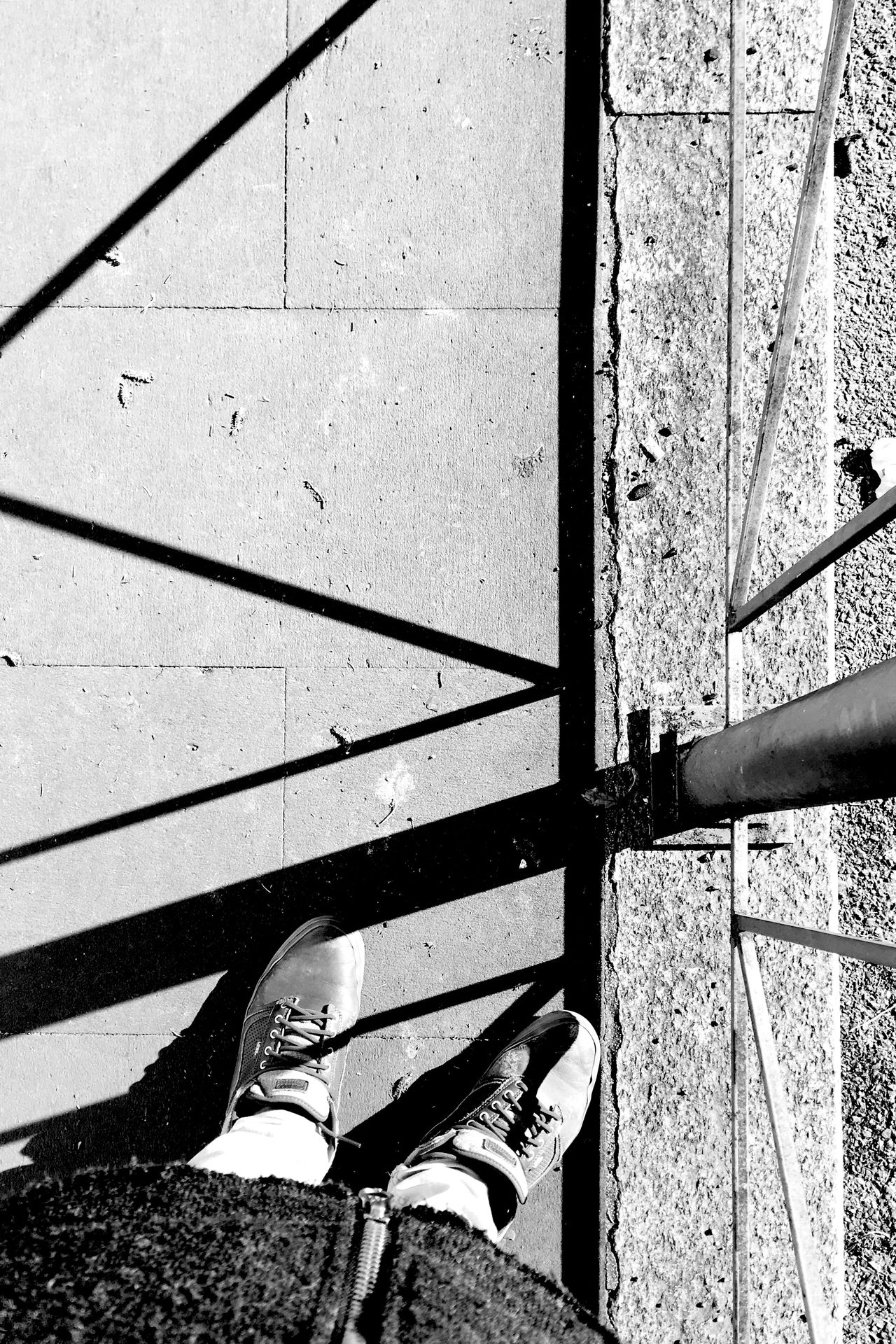 fenced shadows Architecture Close-up Day IPhoneography Iphonesia No People Outdoors Shadow VSCO Vscocam Vscogood