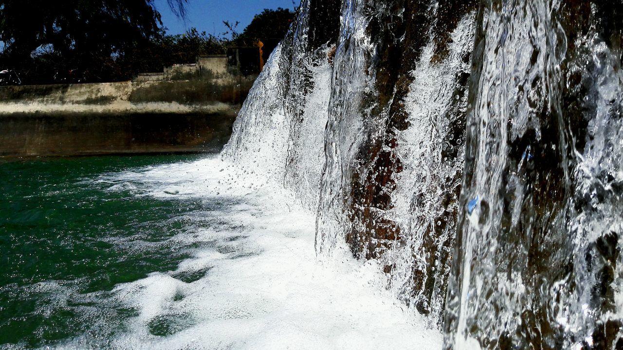 EyeEmNewHere Water Spraying Tree Splashing No People Motion Outdoors Close-up Day Nature Scenics Drop Sky