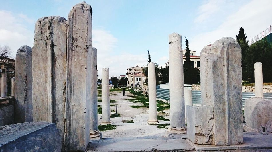 Beautiful stock photos of athens, built structure, architecture, old ruin, building exterior