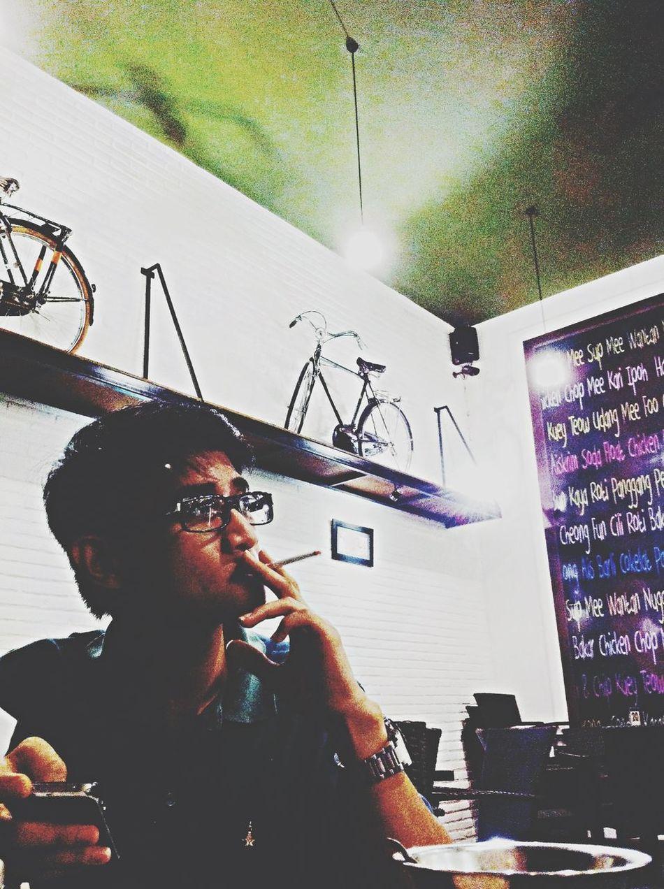 I'm smoking for freedom Coffee Malang
