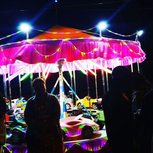 Colour Photography Merry Go Round Fleamarket NPT ❤