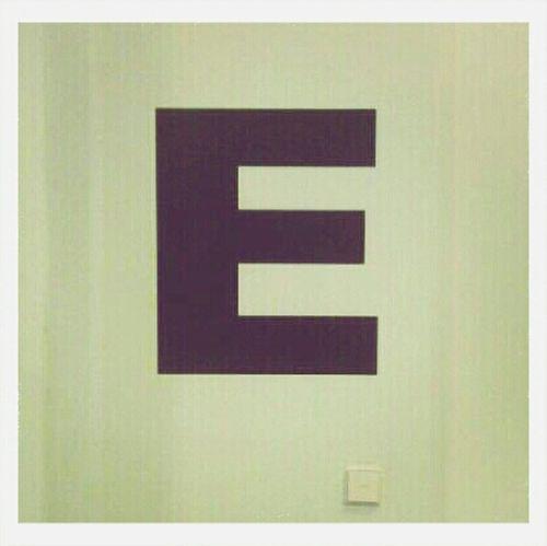 EyeEm Letter E