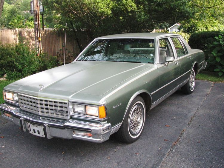 True Love 1985 Chevy Caprice Olive