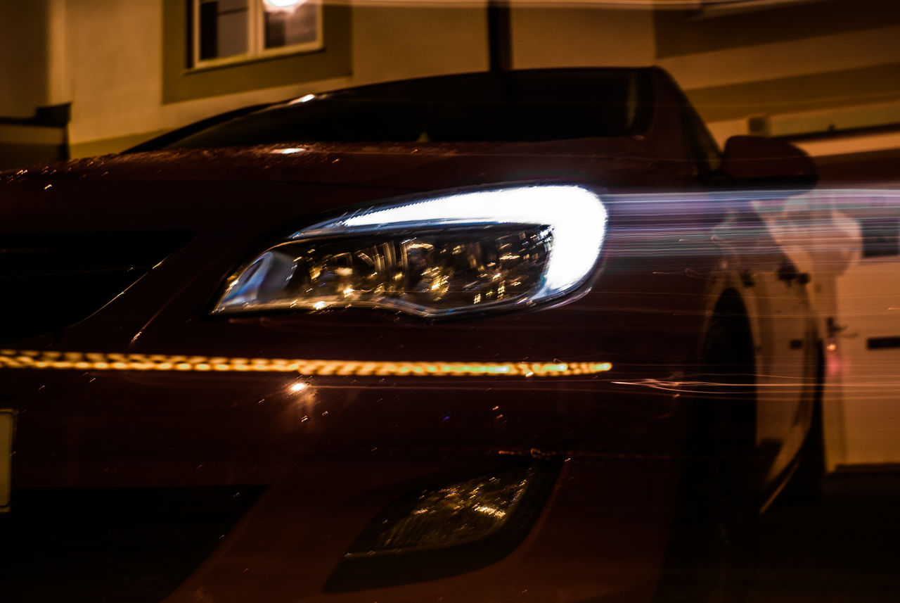 Car Transportation Land Vehicle Mode Of Transport No People Illuminated Close-up Indoors  Night Architecture Long Exposure Vauxhall Lieblingsteil EyeEmBestPics EyeEm Gallery EyeEm Best Edits Abstract Photography EyeEm Opel Opel Astra light and reflection Lighting Equipment Red Astra