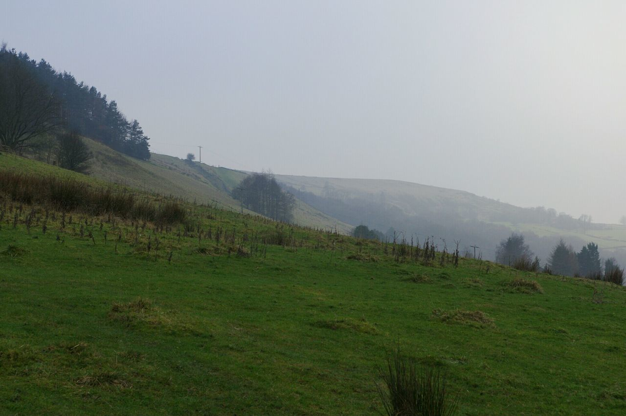 Landscape Nature Mountain Lush - Description Fog Outdoors Beauty In Nature No People Sky Day Beauty In Nature Calderdale Freshness Cold Tranquil Scene Scenics Winter January Mytholmroyd Perspectives Daisy Bank Nature Hills Hill Green Color