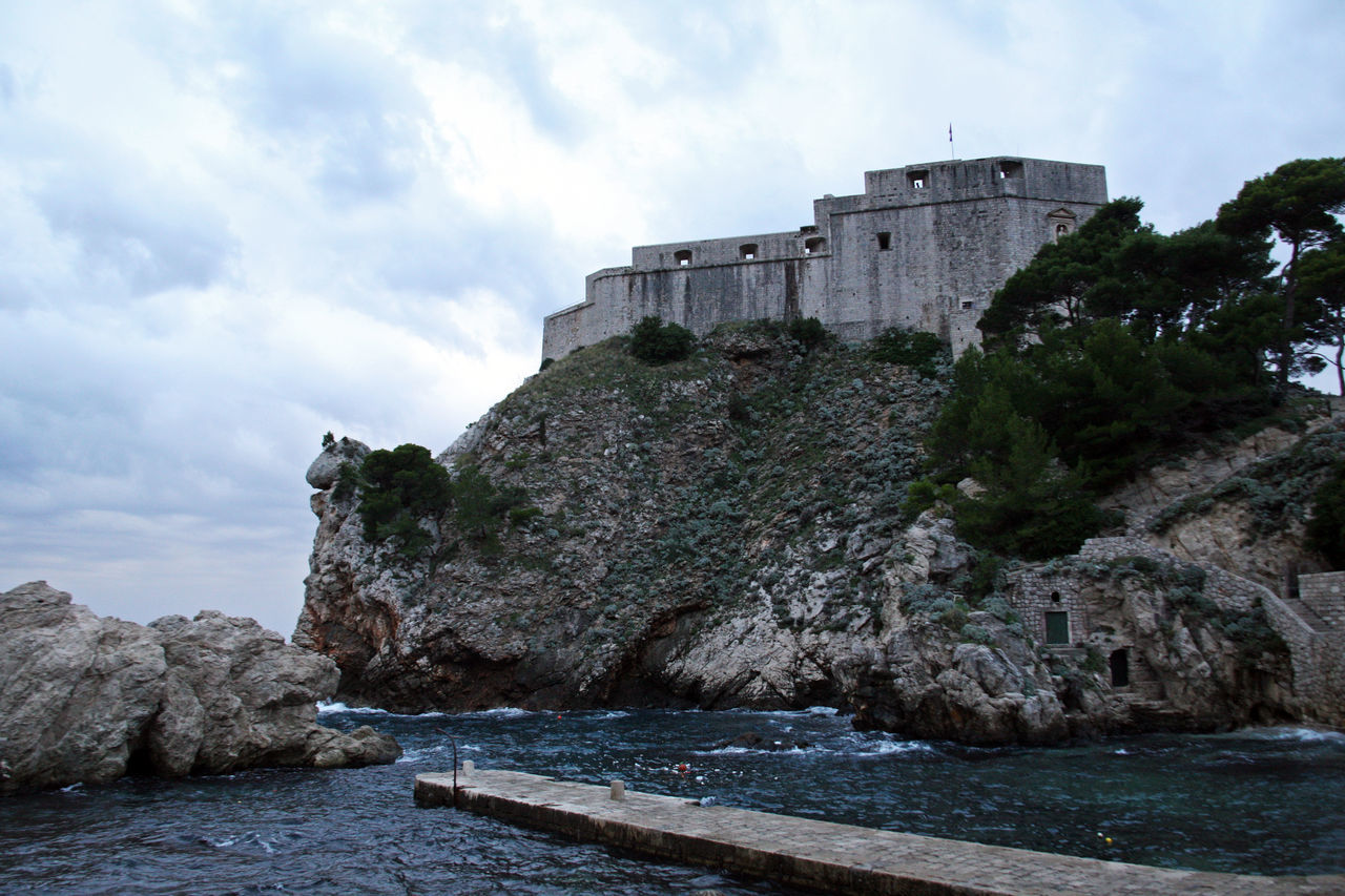 Dubrovnik,ancient fortress Lovrijenac,Croatia,Europe,4 Adriatic Coast Ancient Architecture Architecture Beauty In Nature Building Exterior Built Structure Cloud - Sky Day Dramatic Sky Dubrovnik, Croatia Fortress History Lovrijenac Nature No People Outdoors Sea Sky Storm Clouds Travel Destinations Water