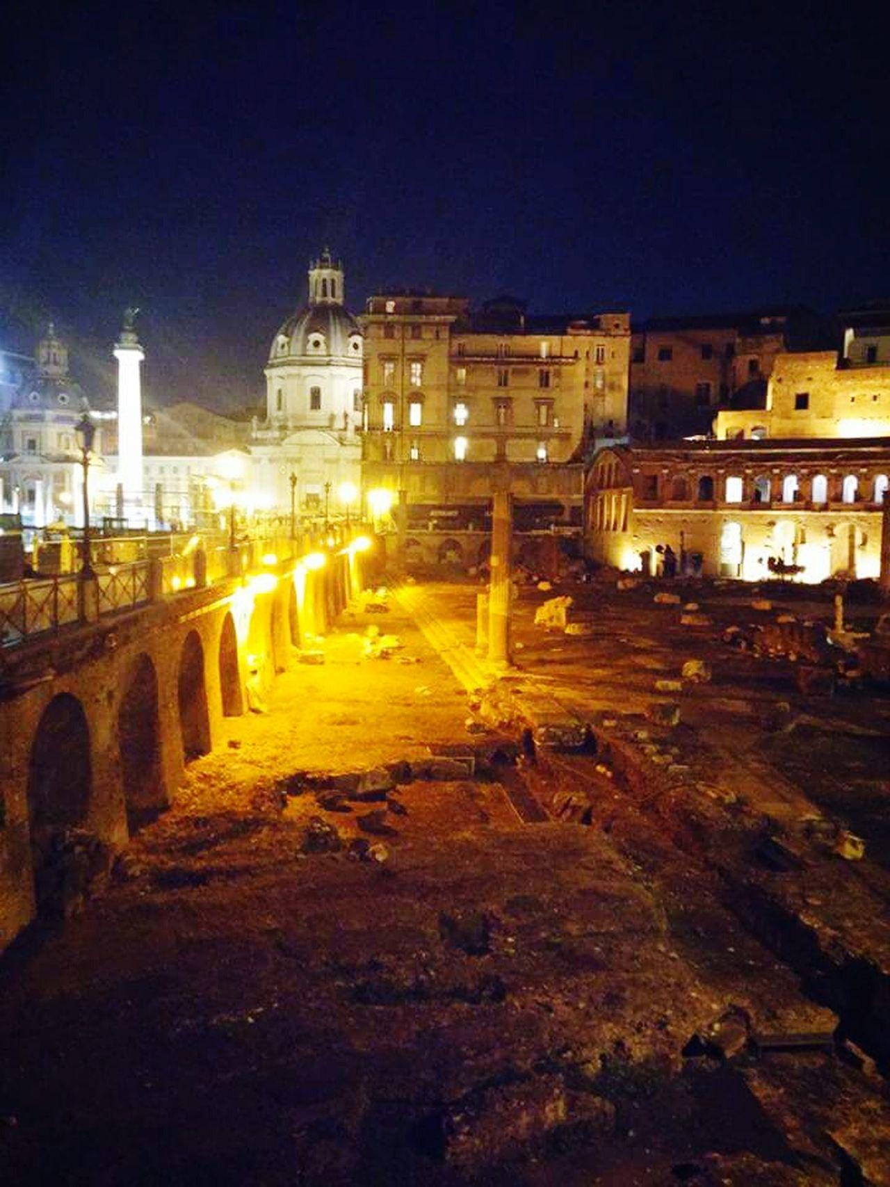 Rome By Night Fori Imperiali