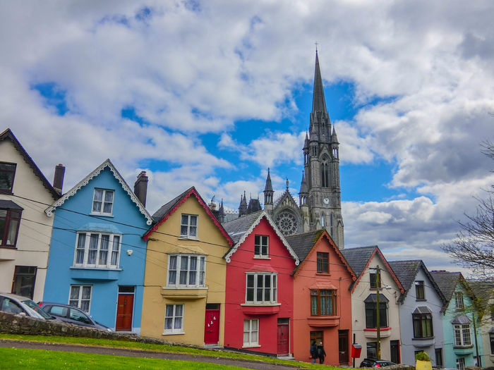 Clear Sky Ireland Architecture Building Exterior Built Structure City Cloud - Sky Colorful Cute Day History House No People Outdoors Place Of Worship Religion Sky Special Building Spirituality
