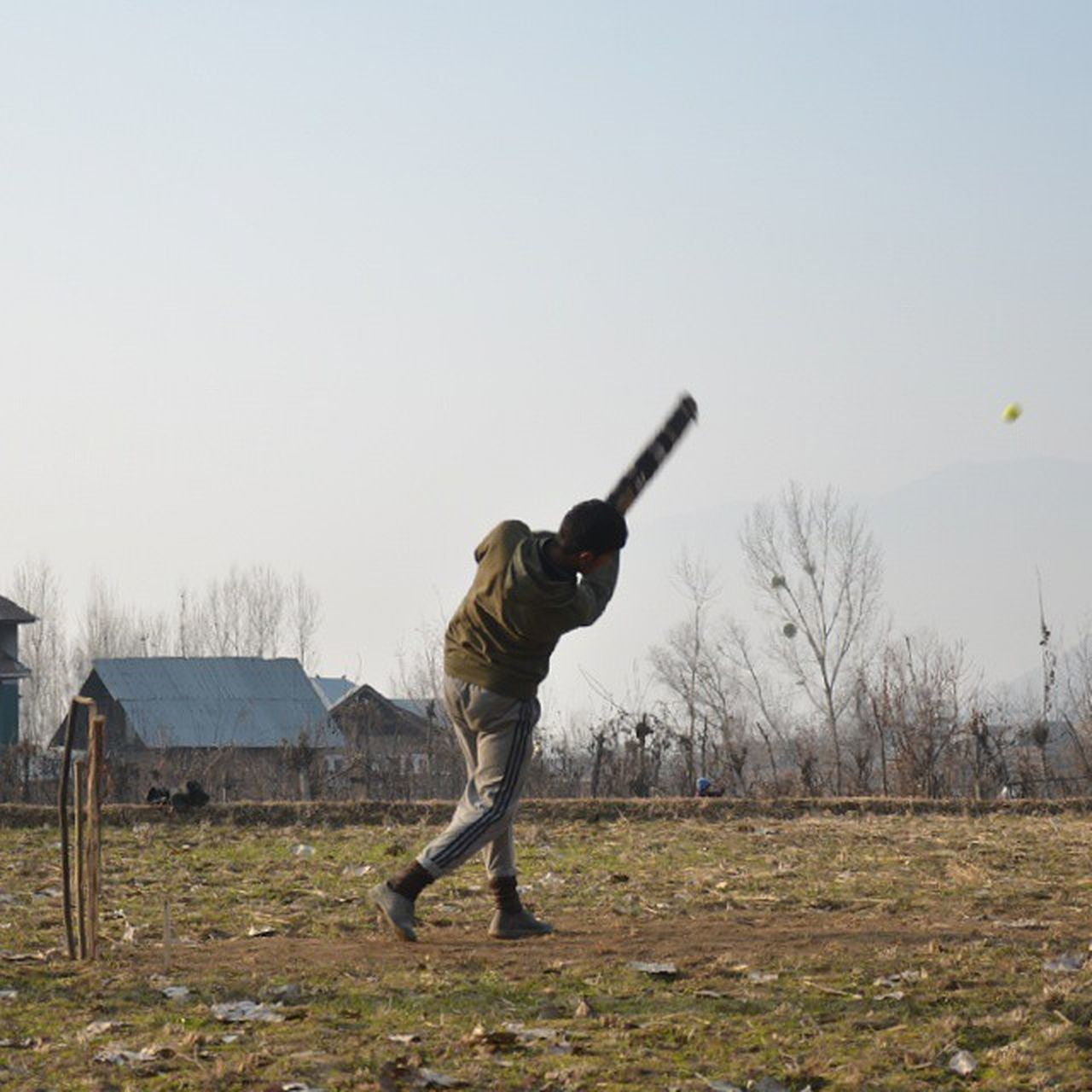 In Action Cricket Bandipur Countryside Village Aragam Cricketer Batsman Hitting Fields Kashmir Pakistan Freedom Itravel IStop Ilook Iphotograph IPhotographKashmir IExplore IExploreKashmir ExploringUnknown Iamme IAmRevo Revo Revoshotsphotography Revoshots kpc