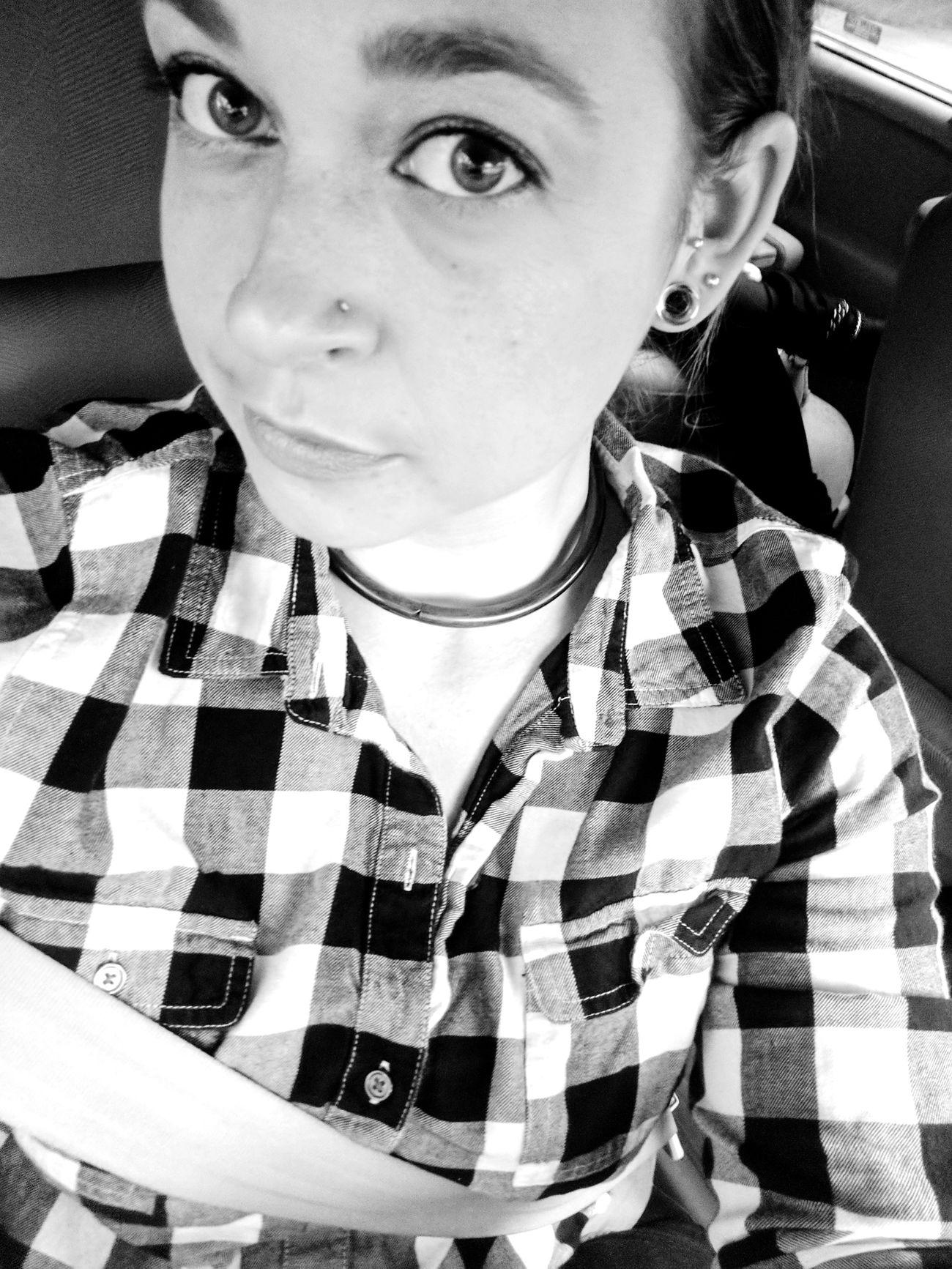 Blackandwhite Selfıe