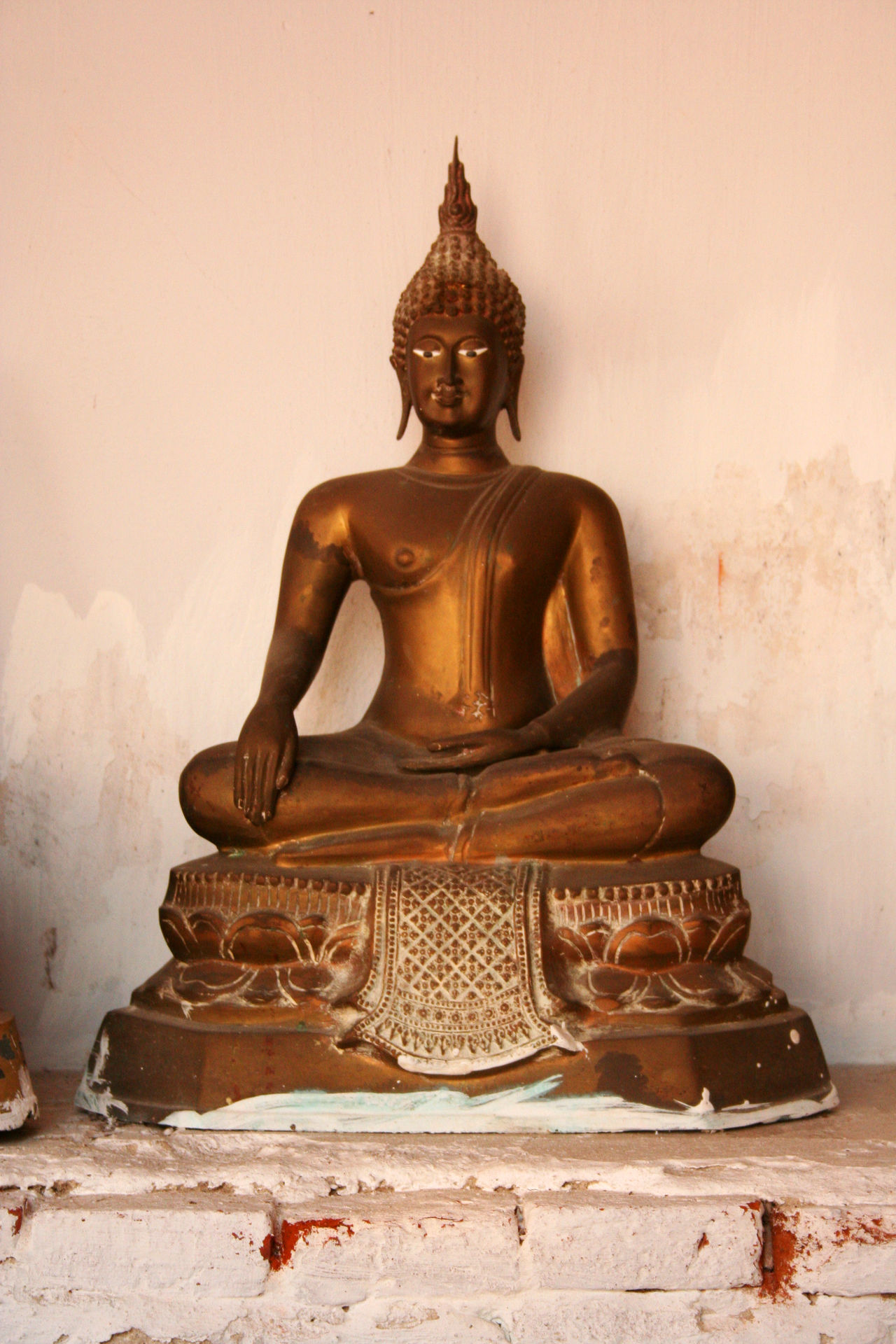 Art Beliefs Buddha Close-up Day No People Ornate Outdoors Religion Showing Imperfection Statue Thailand The Past Travel Destinations Unrestored