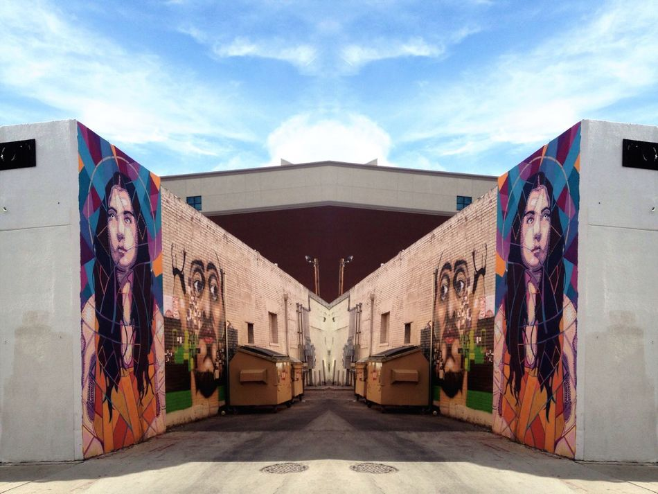 People And Places Downtown El Paso Texas Landscape Streetart Art, Drawing, Creativity Sky