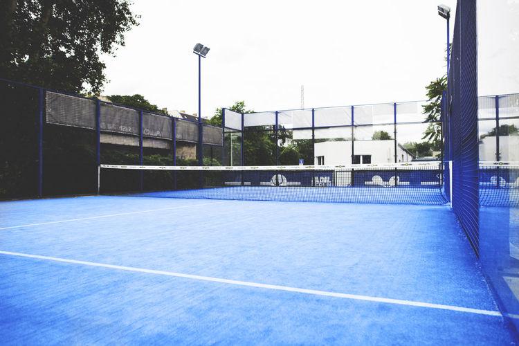 Court Padel Blue Net - Sports Equipment Paddle Professional Sport Racket Sport Sport Tennis First Eyeem Photo
