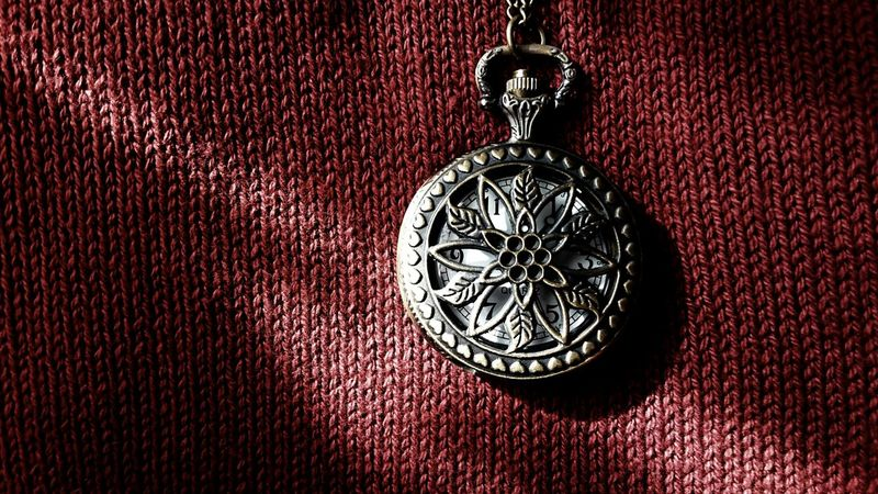 Pendant Engravings Light And Shadow Fabric Red Fabric Surfaces And Textures Up Close No People Open Edits Photography EyeEm Best Shots Feeling Creative Taking Photos Textile Red Object Objects Jewellery My Favorite Things Time Clock