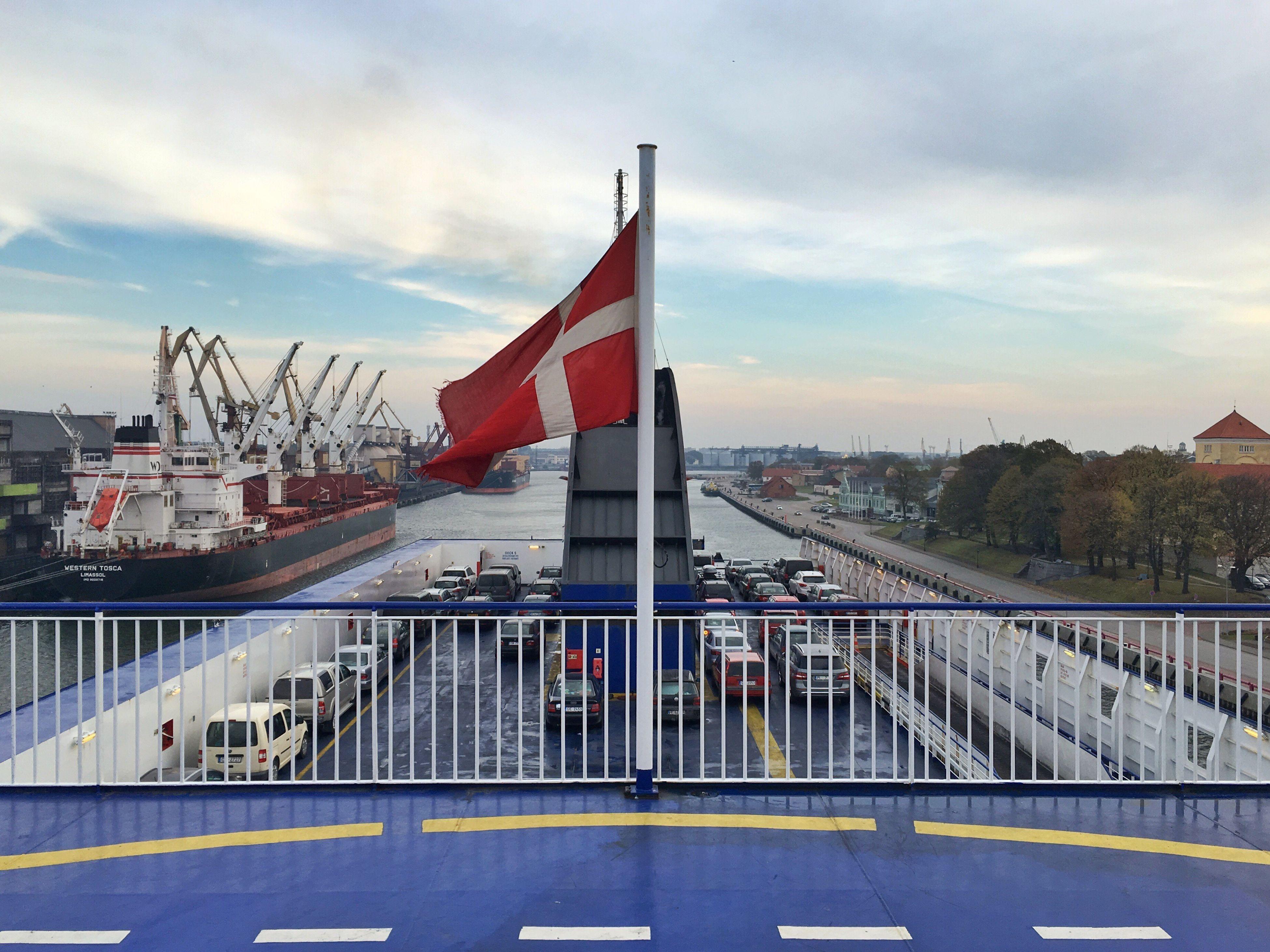 patriotism, flag, sky, architecture, cloud - sky, built structure, pride, bridge - man made structure, no people, outdoors, day, connection, suspension bridge