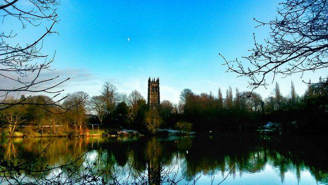 StMary's Church Blue Sky