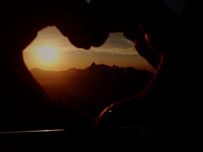 Looking To The Other Side RioJaneiro Sunset Enjoying Life World