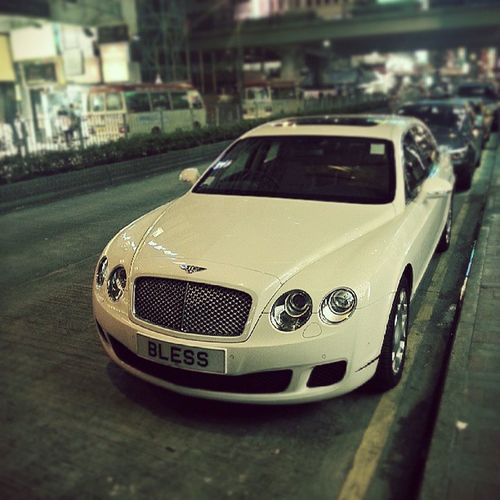 Jah bless this Bentley Hklicenseplate Oxymoron @sindynow