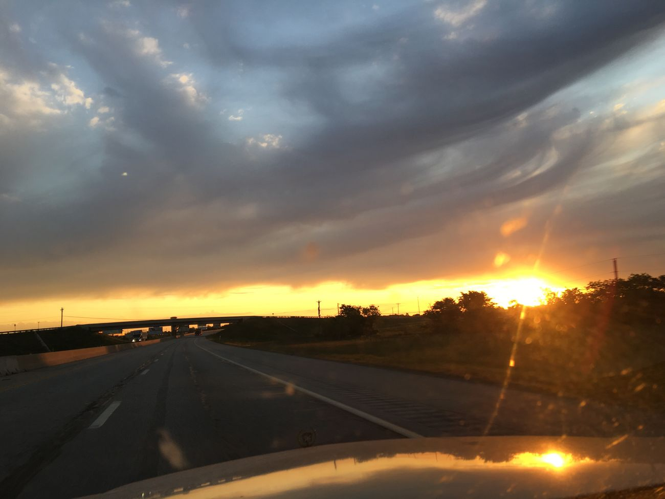 Sun Rise Oklahoma Skies Beautiful Enjoying Life