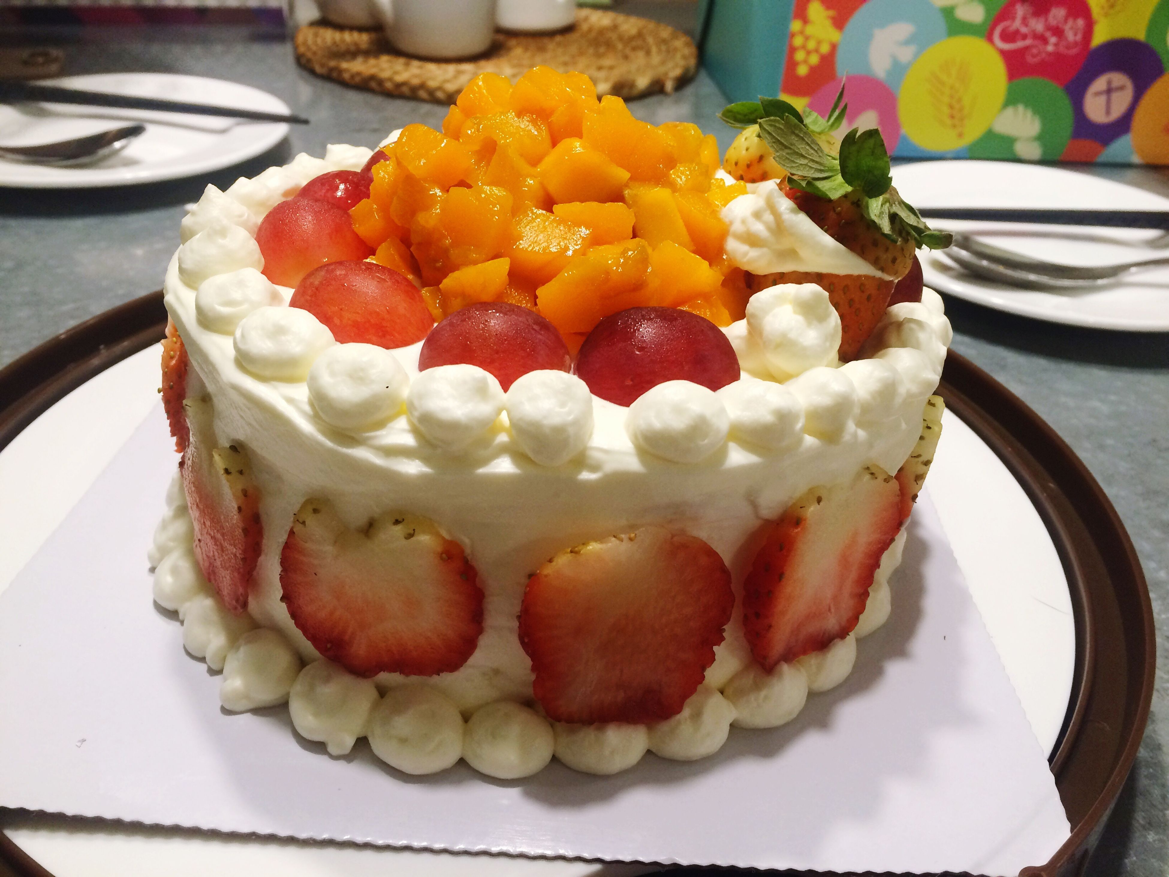 food and drink, food, freshness, sweet food, indoors, dessert, ready-to-eat, indulgence, plate, fruit, unhealthy eating, still life, strawberry, cake, temptation, table, raspberry, serving size, high angle view, close-up