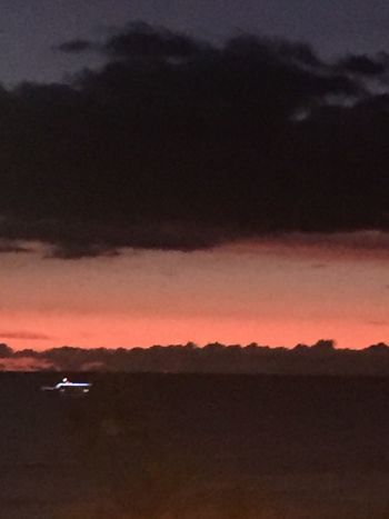Oahu Oahu / Hawaii Island Of Oahu, Hawaii Tropics Pacific Sunset Pacific Ocean View No People Pacific Ocean Sky No Edit/no Filter Pacific Ocean Horizon Over Water Sky And Clouds Water Boat An Eye For Travel