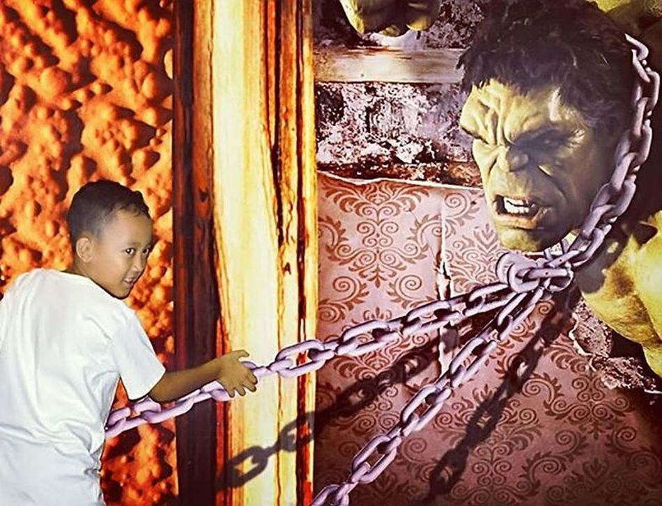 Hulk Dmata Demata Wall Nice Cool Boy Studio Kid Jogjakarta Jogja Photooftheday