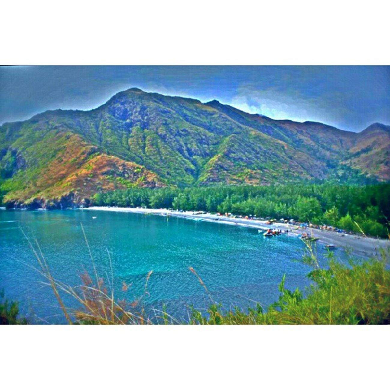 Top View Anawangin Philippines Travel Memories beach mountain anawanginwildlife