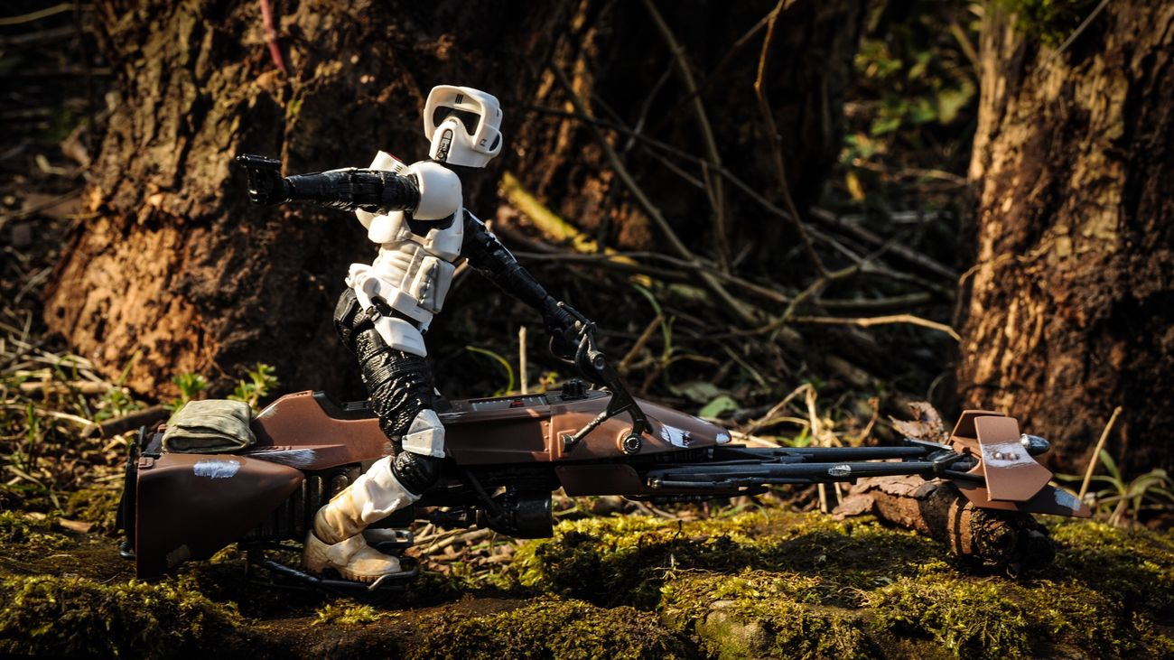 Toy Photography Toyphotography Toycommunity Scouttrooper Starwars Starwarstheblackseries Star Wars The Black Series Starwarstoys Star Wars Starwarsfigures Endor Returnofthejedi