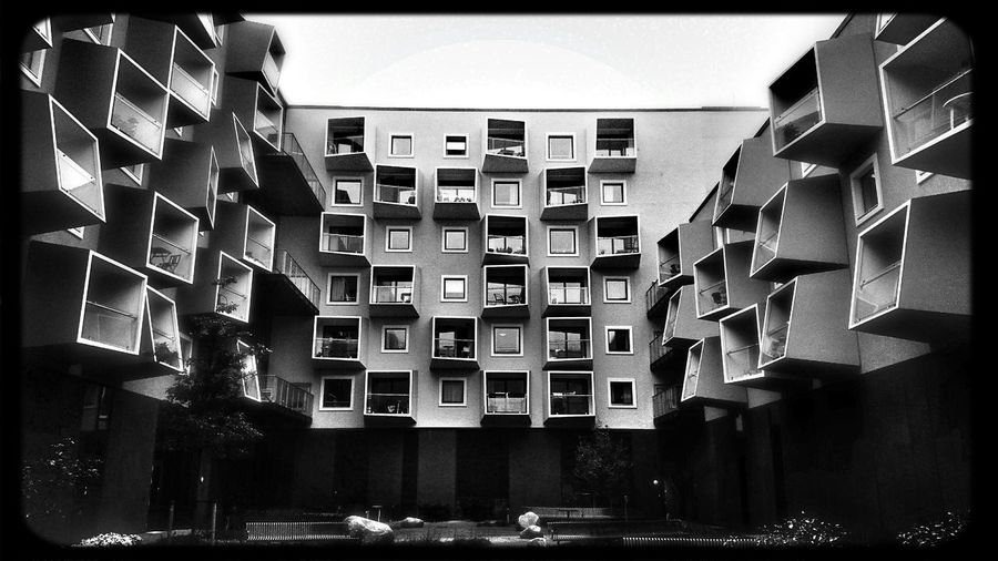 Blackandwhite Photography Architecture Buildings Amager