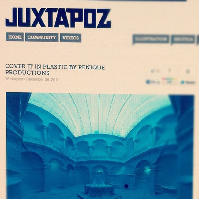 Penique productions peniqueprod freatured in Juxtapoz!! Peniqueproductions Cof2011