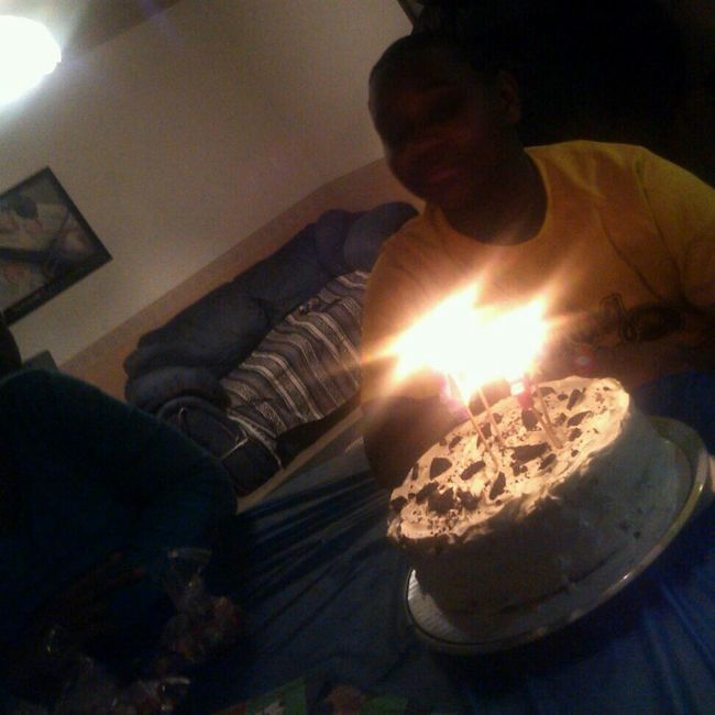Screaming happy birthday to my lil bro Calvin!!! love you lil bro