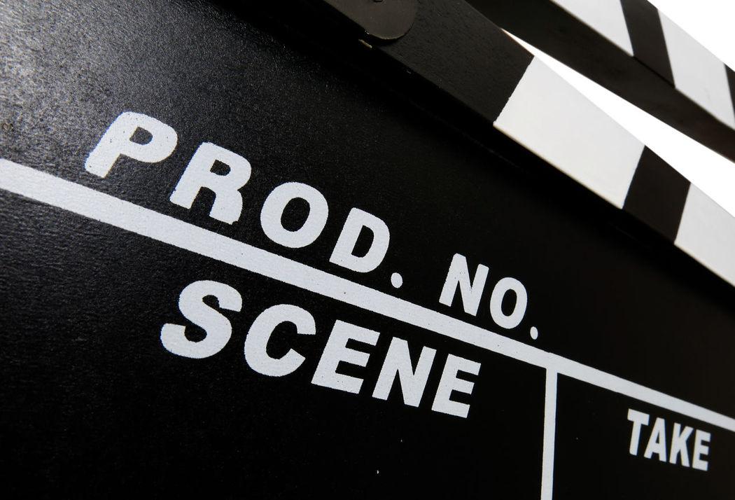 Standard clapperboard Clapperboard Film Film Production MOVIE Movie Production Movie Props Slate Video Video Production