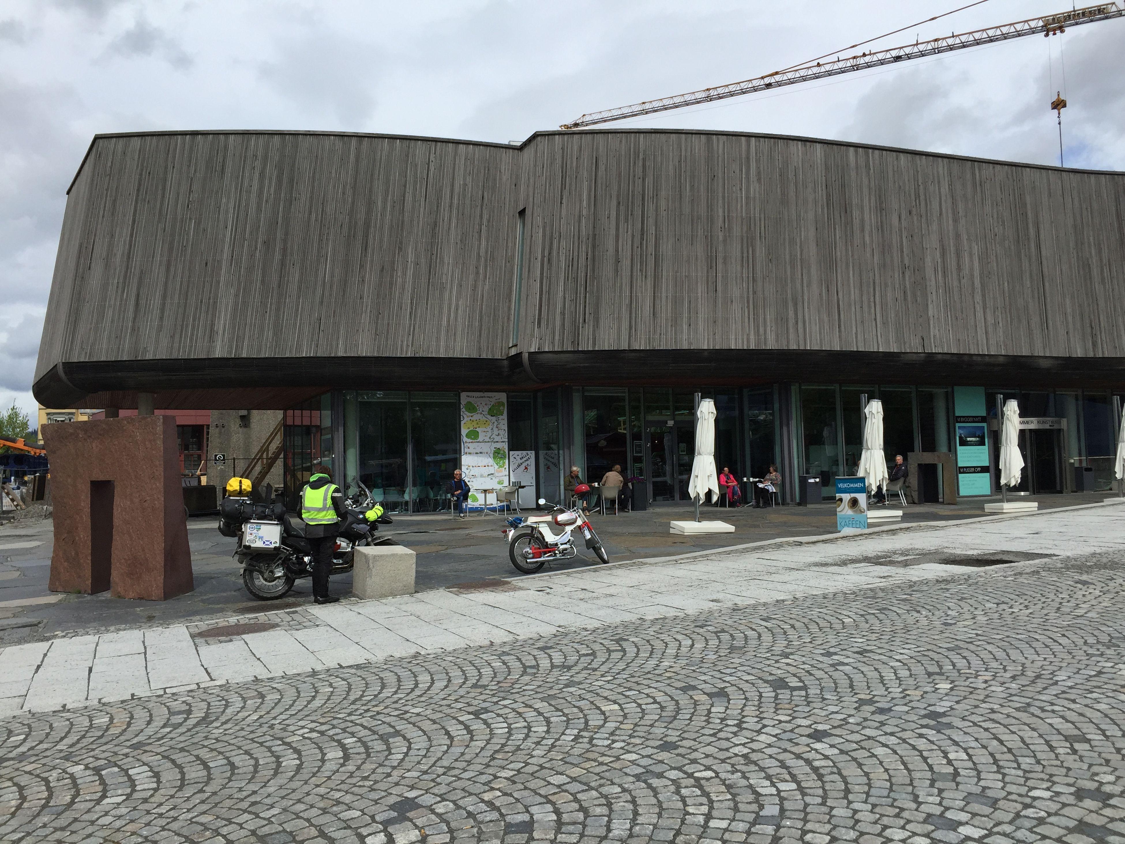 Der erste Stopp in Lillehammer